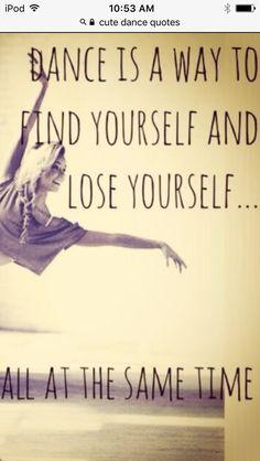 I do dance