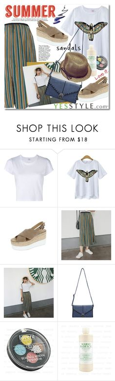 """""""YesStyle Polyvore Group """" Show us your YesStyle """""""" by svijetlana ❤ liked on Polyvore featuring RE/DONE, DaBaGirl, polyvoreeditorial and summersandals"""