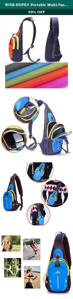 WOM-HOPE® Portable Multi-functional Waterproof Unisex Outdoor Sports Chest Pack Bum Bag Sling Bag Hiking Daypacks Adjustable Strap Shoulder Backpack Cross Body Bag - Hiking,Biking,Running (Orange). Features: Fashion, multi-function and practical design, and comfortable to wear. Ideal for outdoor sports (hiking, camping, climbing, cycling, etc) and travel use . Suitable for both men and women. Very portable and convenient for assorting things. Specifications: Material: polyester and nylon...