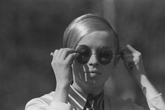 In pics: Fashionable Finns of the and 1960s Sunglasses, Round Sunglasses, Marimekko, Real People, Fashion Forward, Take That, Fashion Design, Woman, Travel