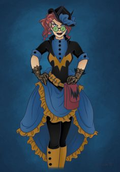 rebel without applause: steampunk batgirl