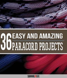 36 paracord projects for preppers