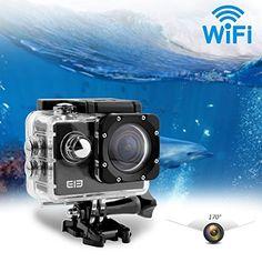Elephone ELE CAM Explorer con Wifi Cámara Deportiva Impermeable 16MP 4K 1080P 64GB y Lentes de 170 Grados - http://complementoideal.com/producto/tienda-socios/elephone-ele-cam-explorer-con-wifi-cmara-deportiva-impermeable-16mp-4k-1080p-64gb-y-lentes-de-170-grados-amplios-h-264-hdmi-y-cmara-al-aire-libre-contra-vibracin-super-hd-con-lcd-de-2-0-pulgadas-par-2/