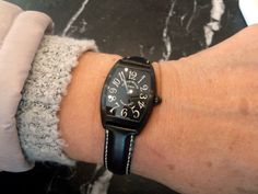 【フランク・ミュラー - カサブランカ】 ★M・M様 ★理由/シンプルが一番!色も黒で気に入っています。