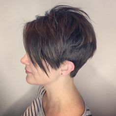 "230 Likes, 7 Comments - LOSE YOUR LOCKS (@chopitoff) on Instagram: ""Love @raynahairartistry #pointyourchindown #pixie #pixiecut #sideshave #undercut #sidecut…"""