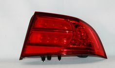 Acura TL Chrome/Clear Euro Taillights fit 2004, 2005, 2006