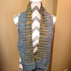 Another scarf woven with the Ashford rigid heddle loom
