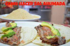 CHUCHEMAN como hacer sal ahumada - Recetas mexicanas