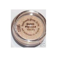 My all time favorite eye shadows are by Bare Minerals- the one I use the most is Queen Phyllis. A shimmering neutral shade that applied lightly brightens up the eyes, or applied more lavishly for a bright pop of color. Average Price $13.00