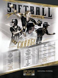 UCF Softball poster 2013-2014