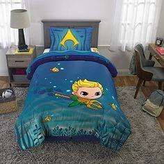 Franco Kids Bedding Super Soft Comforter and Sheet Set, 4 Piece Twin Size Patio Furniture Sets, Kids Furniture, Aquaman, Outdoor Sauna Kits, Kids Trike, Kids Bedding Sets, Doll Beds, Cozy Bed, Pottery Barn Kids