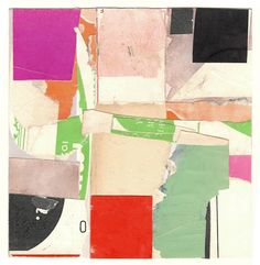 #KRA1104, 6″ x 6″, paper collage 2011 (sold)