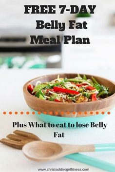 FREE 7 Day Belly what to eat to lose belly fat diet meal plan. Plus the best foods to eat to lose belly fat. This post will guide you to a clean eating diet and includes a flat belly diet plan menu that is easy to follow. Check it out!