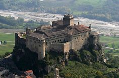 """Italy - Fenestrelle Fort, Fenestrelle Italy - believed to be the prison upon which """"The Count of Monte Cristo"""" is based.  La Fortezza di Bardi"""