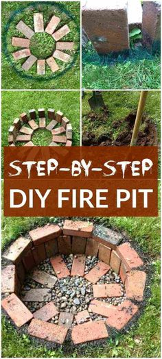 The warm weather will be back before you know it! These easy-to-make DIY firepit ideas are below to make your summer season the very best one ever Fire pits are a great addition to your garden. Take a look at these amazing DIY fire pit ideas! Garden Fire Pit, Diy Fire Pit, Fire Pit Backyard, Backyard Seating, Fire Pit Video, Fire Pit Essentials, Outside Fire Pits, Fire Pit Landscaping, Landscaping Shrubs