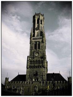 Bruges Belfry, Belgium  #World heritage