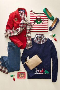 """It's an """"Add To Cart"""" kind of day! Get these festive holiday looks and spread joy and laughter all season long! Cute Christmas Outfits, Christmas Fashion, Holiday Outfits, Fall Outfits, Winter Fashion, Casual Outfits, Fashion Outfits, Girly Outfits, Preppy Style"""