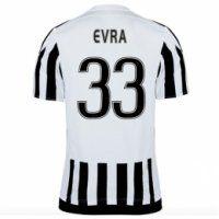Juventus 2015-16 Season Home EVRA #33 Jersey