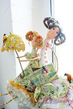 Купить было жарко, жарко.... - кукла, куклы, текстильная кукла, кукла ручной работы