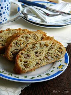 Taste of life: Slani rolat sa mesom