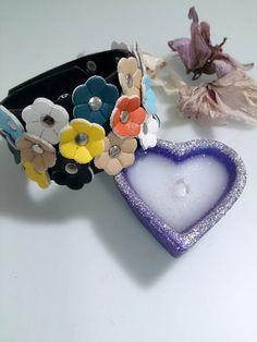 Flower Bracelet Leather ddlg bracelet by AccessoriesByAtlas