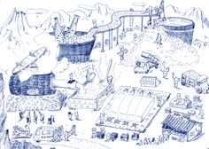 Haruka Shinji ILLUSTRATION | ILLUSTRATION PORTFOLIO1 MONOCHROME