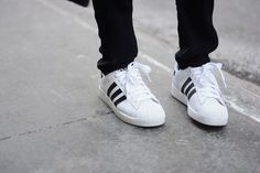 the latest 2d04c 67989 Adidas Superstar, Sporty Chic, Adidasskor, Sport Outfits, Fransk Mode,  Tennis,