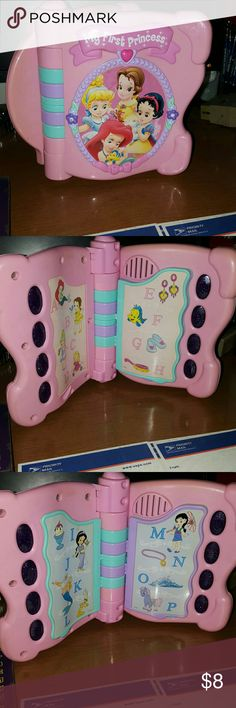 my first princess electronic book pre_owned this is a pre_owned   item from a smoke-free pet-free workplace please check back for more great items at a great price we also ship very very fast thanks for looking have a great day talks plays games and more Other