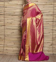 Pink #Kanjivaram #SilkSaree #Indianroots