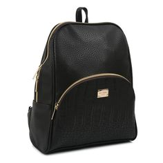 Copi Women's Simple Modern Design Deluxe fashion Small Backpacks Black. Modern design Backpacks and Emotional and feminine type multipurpose easy fit for shopping, promenade, and outing bag. It's small bag. This bag does not fit A4 folder. But, It's big enough for 10 inch tablet and I can fit a folder in it as well. It's does fit backpack for fashion. It's Simple, cute and feminine type of small bag. (11.8in(H) * 9.85in(W) * 4.3in(D), weighs 0.7LB, Handle drop:2.2in). The number of…