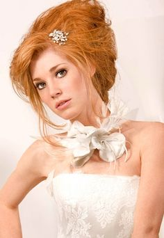 Deconstructed updo - Wedding hairstyles 2010
