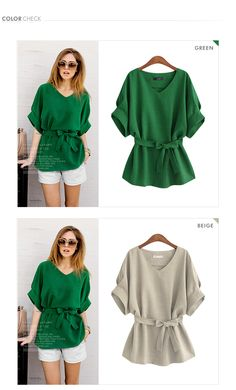 $12.92. XL. 770 Xl 5xl Korean 4 Colors Bow Sashes Linen Lantern Sleeve Autumn Summer V neck Blouse Solid Shirt Blusas Women Tops Plus Size-in Blouses & Shirts from Women's Clothing & Accessories on Aliexpress.com | Alibaba Group