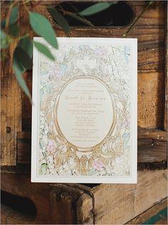Garden party bridal shower invite and ideas. #weddingchicks Stationery: Anista Designs http://www.weddingchicks.com/2014/06/25/indoor-garden-party-bridal-shower/