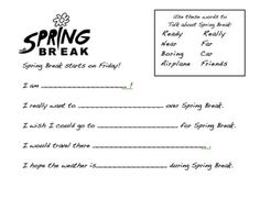 Spring Break Download for R Carryover -  Pinned by @PediaStaff – Please Visit http://ht.ly/63sNt for all our pediatric therapy pins