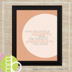 Hour of Action Arises Free Printable | Mormon Mommy Printables