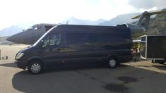 Sprinter VIP for up to 10 passengers at Sion Airport