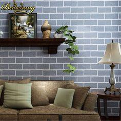 Beibehang ladrillo rústico de televisión de fondo rollos de papel de pared papel de parede para paredes de ladrillo 3d mural wallpaper para paredes de contacto-papel