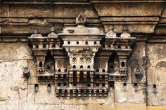 These elaborate bird houses were built throughout the Ottoman Empire from the sixteenth century to the nineteenth. These examples are all in modern Turkey. Most are attached to the walls of grand private houses