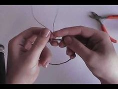 Guitar String Bangle Tutorial. Now I know how to finish off the ends so they…