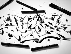 Instagram media by omsk167 - ✍ one for my girl #sketching #sketchbook #omsk167 #csfcrew #graffiti