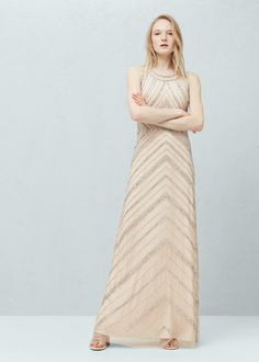 Bead tulle dress - Women | OUTLET USA