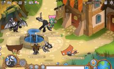 Old animal jam! Oh I wish it was still like this