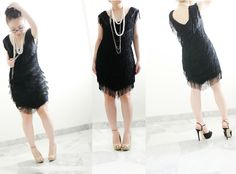 Jillian Undercover: TUTORIAL: QUICK AND EASY 1920's FLAPPER DRESS