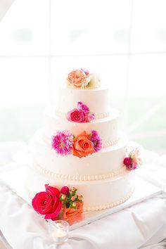 wedding cake details @weddingchicks