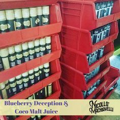 Blueberry deception E-liquid and Coco malt juice with highly delicious taste.