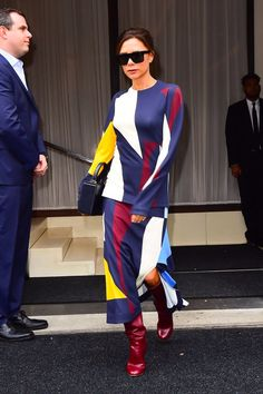 Victoria Beckham's New Look Is Worlds Apart From Her Old LBD