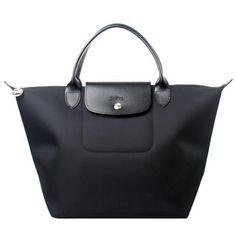 Longchamp Le Pliage Black
