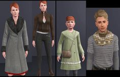 Mod The Sims - Various EA outfits as outerwear! *updated* by Arisuka