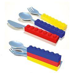 couverts Lego® pour faire comme papa ;-)