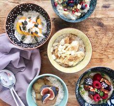 Spiced Vanilla, Chia & Date Porridge